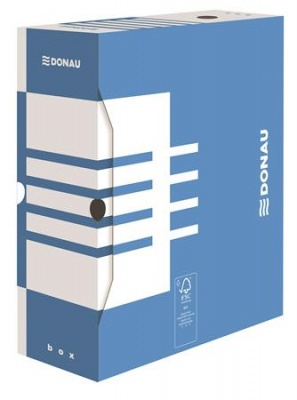 Archiv�l� doboz, A4, 120 mm, karton, DONAU, k�k
