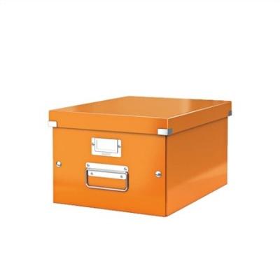 Iratt�rol� doboz, A4, lakkf�ny�, LEITZ