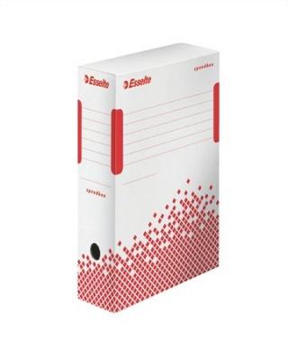 Archiv�l� doboz, A4, 100 mm, �jrahasznos�tott karton, ESSELTE