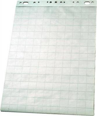 Flipchart pap�r, sima-kock�s, 65x100 cm, 50 lap, ESSELTE