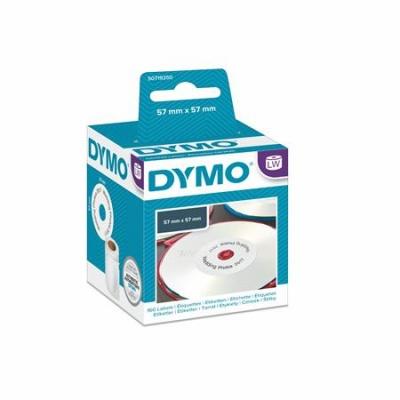 Etikett, LW nyomtat�hoz, 57 mm �tm�r�j�, 160 db etikett, DYMO
