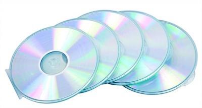 CD-tok, v�kony, 1 lemez, k�r alak�, FELLOWES, �tl�tsz�