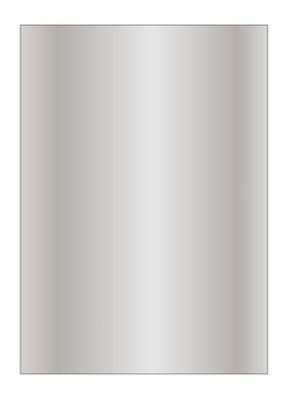 Met�lf�ny� pap�r, A4, 130 g, APLI, ez�st