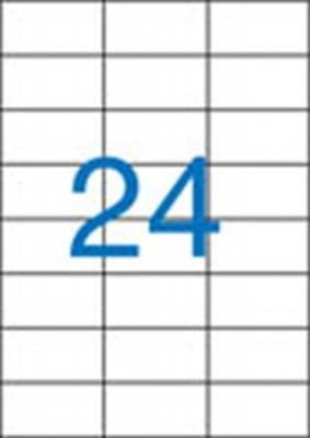 Etikett, univerz�lis, 70x37 mm, VICTORIA, 2400 etikett/csomag