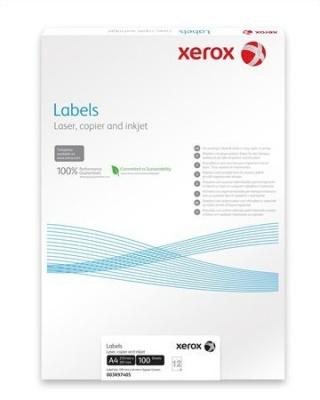 Etikett, univerz�lis, 70x37 mm, XEROX, 2400 etikett/csomag