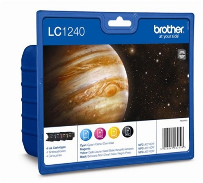 LC1240BCMY Tintapatron multipack MFC J6910DW nyomtat�hoz, BROTHER b+c+m+y, 4*600 oldal