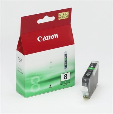 CLI-8G Tintapatron Pixma iP4200, 6600 nyomtat�khoz, CANON z�ld, 13ml