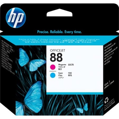 C9382A Tintapatron fej OfficeJet Pro K550 nyomtat�hoz, HP 88 v�r�s, k�k