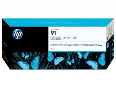 C9465A Fot�patron DesignJet Z6100, Z6100ps nyomtat�khoz, HP 91 fekete, 775ml