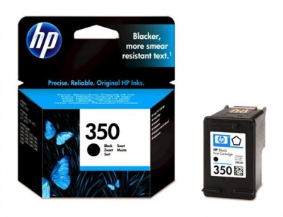 CB335EE Tintapatron DeskJet D4260, OfficeJet J5780 nyomtat�khoz, HP 350 fekete, 4,5ml