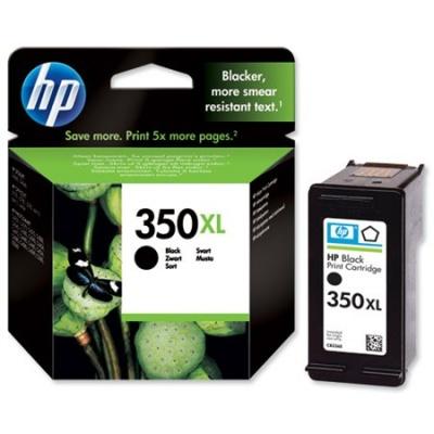 CB336EE Tintapatron DeskJet D4260, OfficeJet J5780 nyomtat�khoz, HP 350xl fekete, 25ml