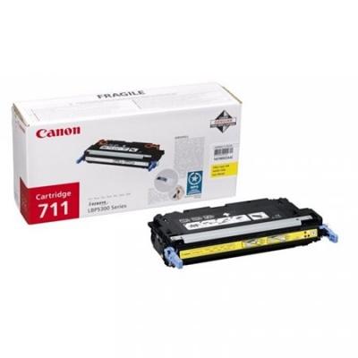 CRG-711Y L�zertoner i-SENSYS LBP 5300 nyomtat�hoz, CANON s�rga, 6k