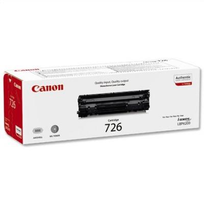 CRG-726 L�zertoner i-SENSYS LBP 6200D nyomtat�hoz, CANON fekete, 2,1k