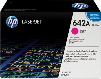 CB403A L�zertoner Color LaserJet CP4005N, 4005DN nyomtat�khoz, HP 642 v�r�s, 7,5k