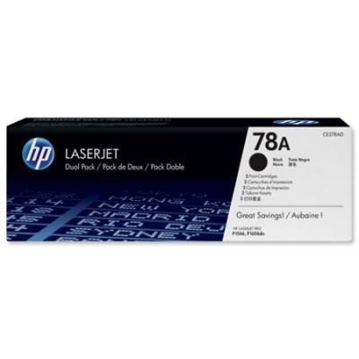 CE278A L�zertoner LaserJet P1566, P1606 nyomtat�khoz, HP fekete, 2,1k