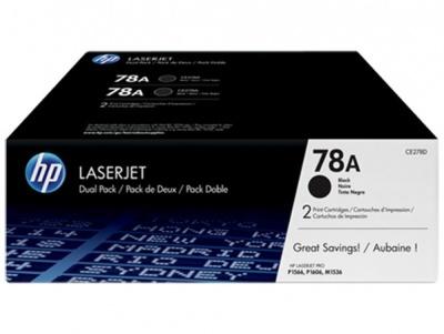 CE278AD L�zertoner LaserJet P1566, P1606 nyomtat�khoz, HP CE278AD fekete, 2*2,1k