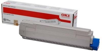 44059165 L�zertoner MC851 nyomtat�hoz, OKI s�rga, 7,3k