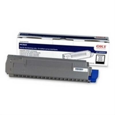 44059212 L�zertoner MC860 nyomtat�hoz, OKI fekete, 10k