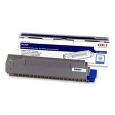 44059211 L�zertoner MC860 nyomtat�hoz, OKI k�k, 9,5k