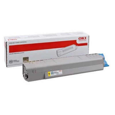 44059253 L�zertoner MC861 nyomtat�hoz, OKI s�rga, 10k