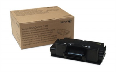 106R02308 L�zertoner WorkCentre 3315 nyomtat�hoz, XEROX fekete, 2,3k