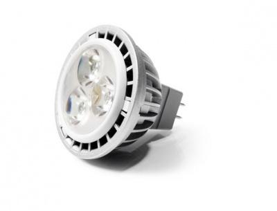 LED izz�, MR16, GU5.3-as foglalat, 460lm, 7W, 2700K, meleg f�ny, szab�lyozhat�, VERBATIM